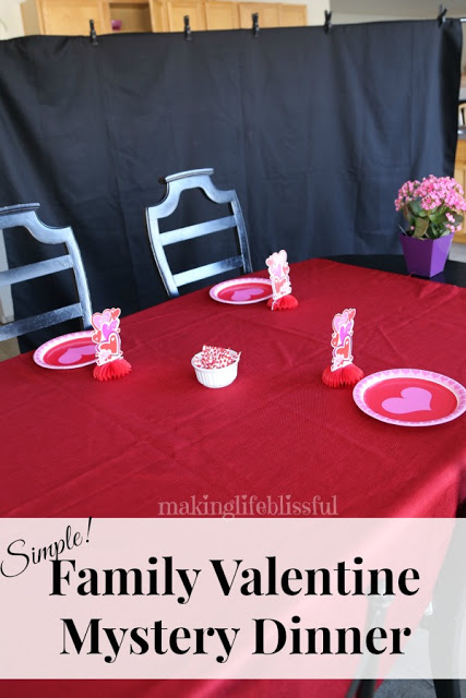 how to host a valentine mystery dinner