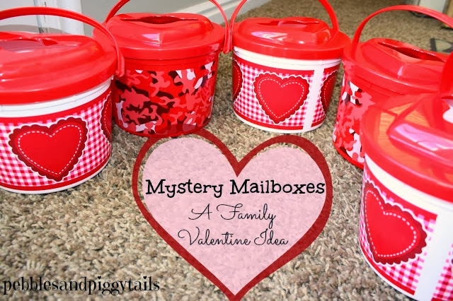Valentine Mystery Mailboxes