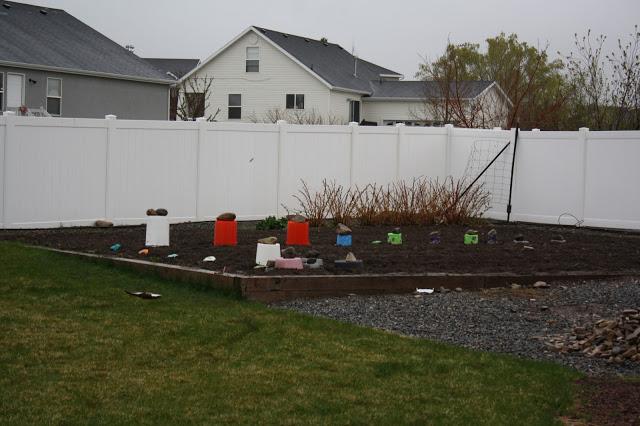 Garden Post 3–SNOW Aaack!