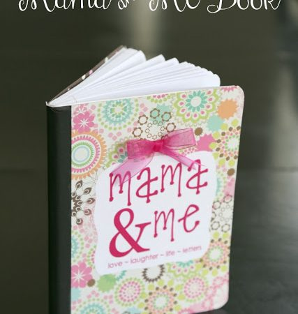 The Mama and Me Book–Best Mother/Daughter Idea!