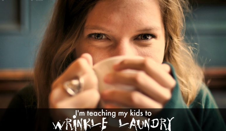I'm Teaching My Kids to WAD Laundry . . . Are You?