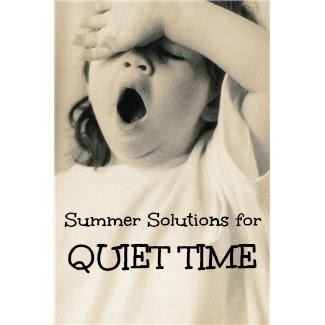 Quiet Time — Summer Solution #4