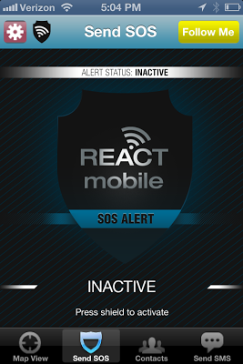 REACT Mobile App Aids in Halloween and Personal Safety