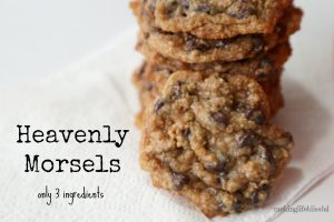 HEAVENLY MORSELS: The easiest cookie you'll ever make