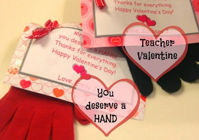 photograph relating to Printable Teacher Valentine Cards Free identified as Trainer Valentine: Yourself Are entitled to a Hand and Absolutely free PRINTABLE