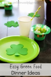 St. Patrick's Green Food Ideas