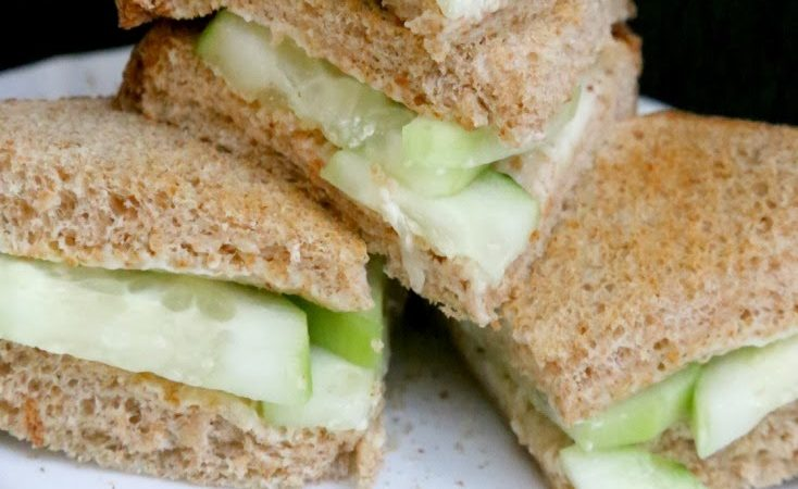 Light Cucumber Sandwiches