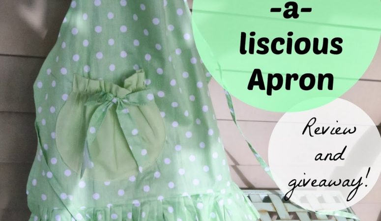 The Cutest Aprons Ever (Flirty Aprons Giveaway)