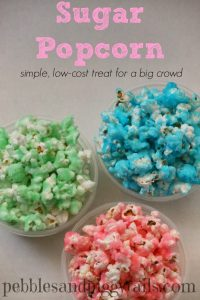 Sugar Popcorn Treat (Quick & Cheap)