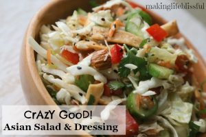 Crazy Good Oriental Chicken Salad