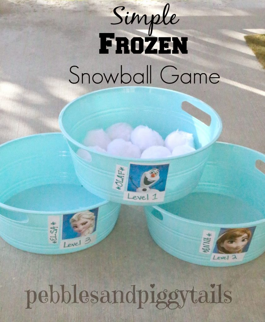Frozen Party Game Ideas