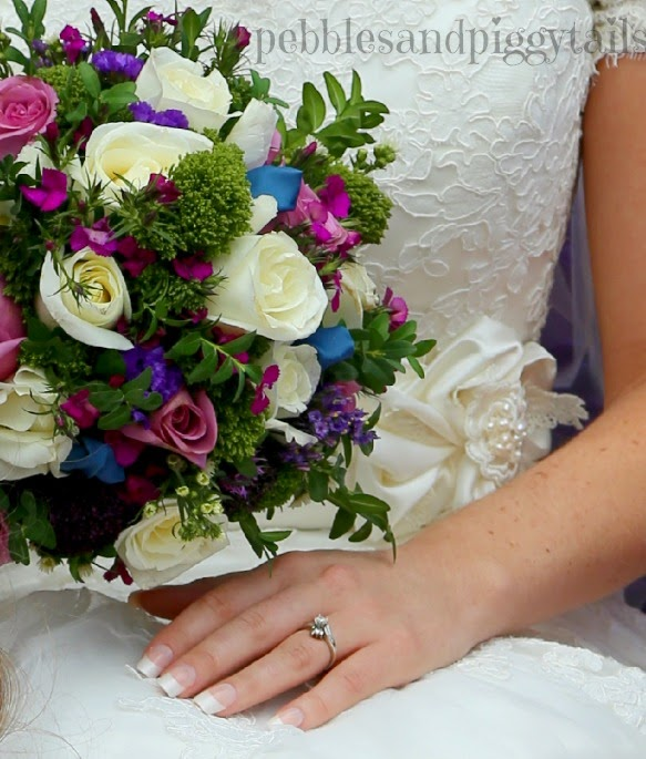 Purple and Teal Wedding Colors | Making Life Blissful