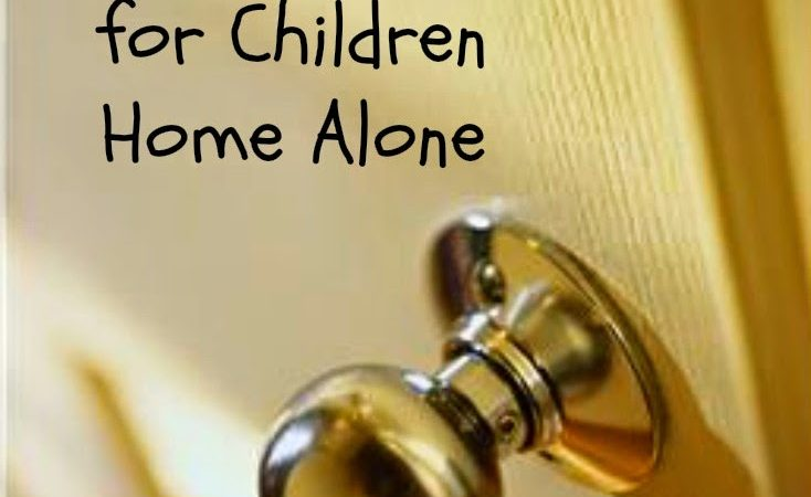 Safety for Children Home Alone