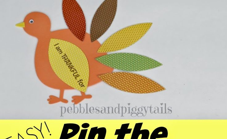Pin The Feathers on the Turkey Game