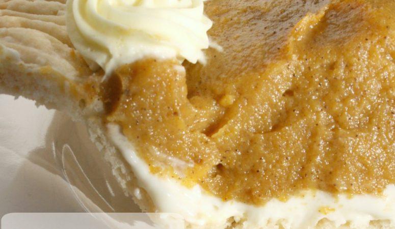 Pumpkin Custard Cream Cheese Pie