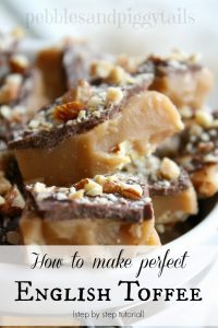 Perfect English Toffee Tutorial