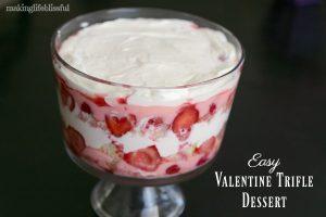 Easy valentine trifle dessert 8