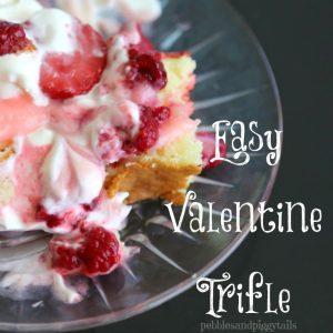 Easy Valentine Trifle Dessert