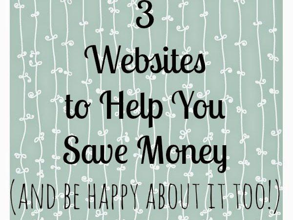 3 websites to help save money