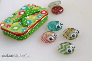 Altoid Tin Reuse Bug Craft Toy