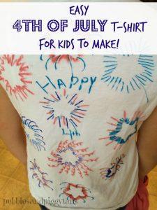 Kids 4th of July tshirt craft.1jpg
