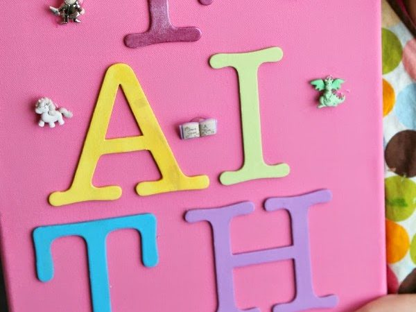 DIY Kids Wall Art