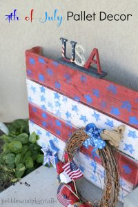 4th of July Pallet Decor Craft