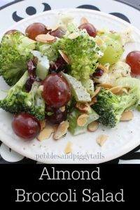 Almond broccoli salad