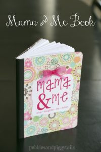 Mama and Me book DIY