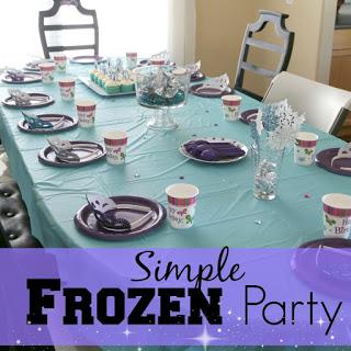 Easy Frozen Party Ideas