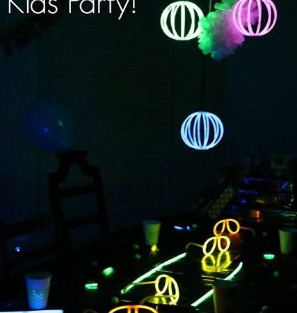 glow in the dark kids party1 1