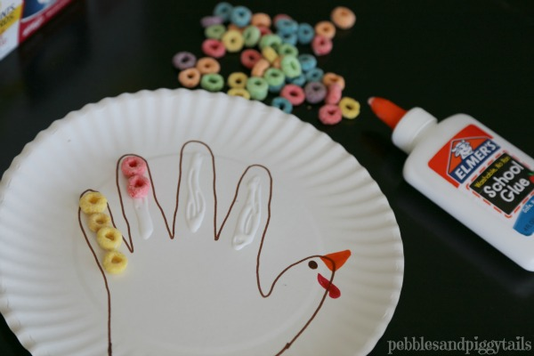 Easy Thanksgiving Turkey Craft for preschool