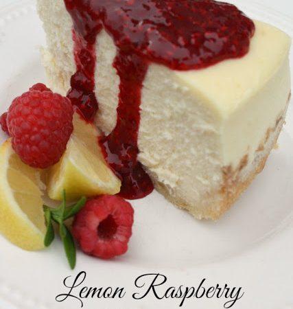 Raspberry Lemon Cheesecake Recipe Tutorial