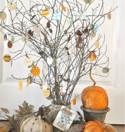 How to make a simple Thankful Tree