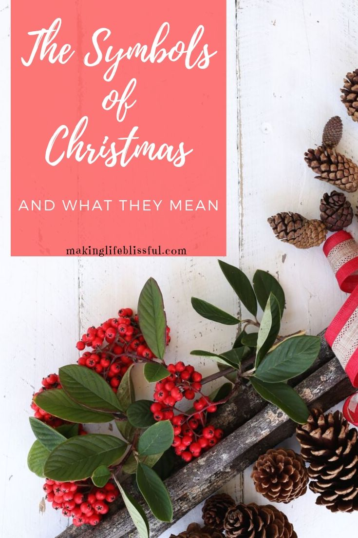The Christmas symbols and their meaning