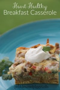 heart healthy breakfast casserole
