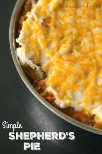 simple shepherds pie