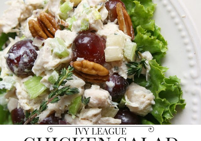 Ivy League Chicken Salad Sandwiches