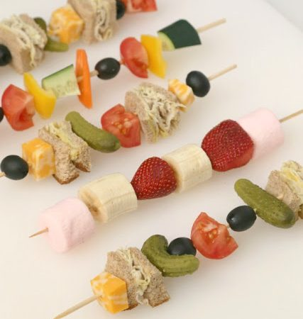 You Are Here Home Activities Lunch On A Stick Kabob Ideas