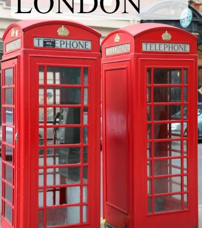 In LOVE with LONDON: Sight-seeing in the streets of London