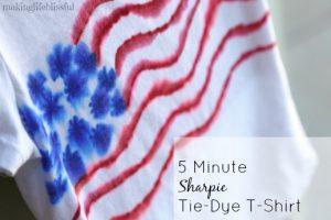 4th of july sharpie tie dye shirt5