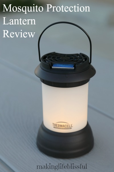 The Thermacell Mosquito Lantern Says It Provides A 15×15 Foot Zone Of  Protection From Mosquitoes, Black Flies, And Other Flying Insects.