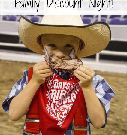Days of '47 Rodeo Family Night Discount Info