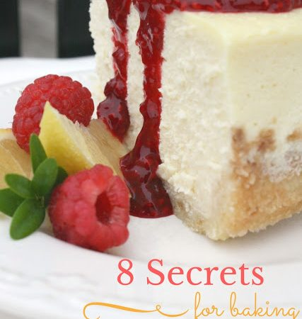 8 Secrets for Baking the Perfect Cheesecake