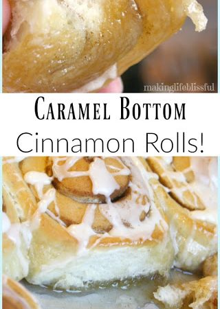 Caramel Bottom Cinnamon Rolls