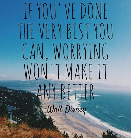 why worry disney fuzzy