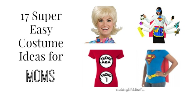 17 super easy costumes for moms2