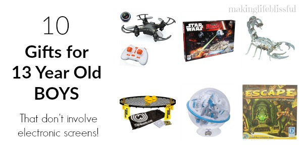 What To Get 13 Year Old Boy For Christmas