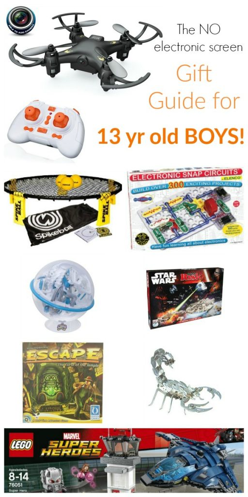 Gift Guide for 13 year old boys