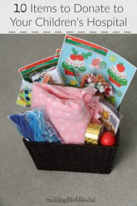 10 items to donate to your children27s hospital 1